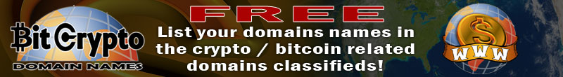 BitCrypto Domains: Buy Sell CryptoCurrency Domain Names FREE